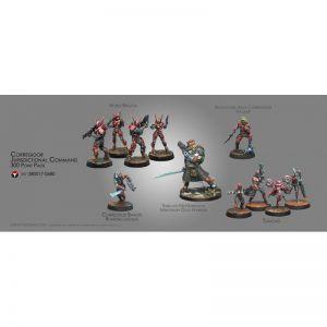 Infinity: Corregidor Jurisdictional Command 300 Pt Pack (0680)