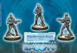 Infinity: Brigadier Jacques Bruant, Sous-officier Des Metros – Molotok (0459)