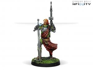 Infinity: 3rd Highlander Grey Rifles (HMG) (0695)