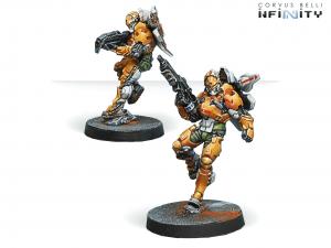 Infinity: Tiger Soldiers (Spitfire/ Boarding Shotgun) (0641)
