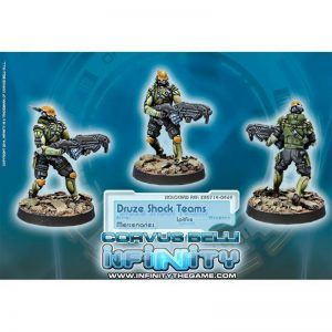 Infinity: Druze Shock Troops (0469)