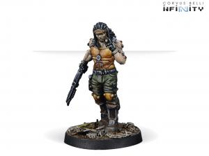 Infinity: Joe 'Scarface' Turner, Mercenary TAG Pilot (0666)