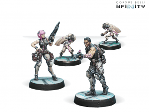 Infinity: Dactyls, Steel Phalanx Support Pack (0646)