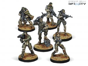 Infinity: Hassassin Bahram (Haqqislam Sectorial Army Starter Pack) (0667)