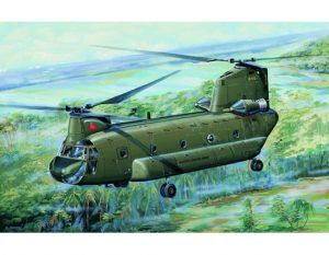 1:72 Trumpeter 01621 CH-47A Chinook Medium-lift Helicopter