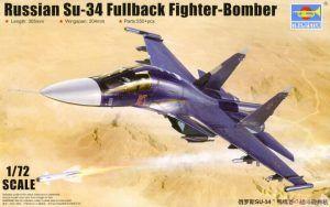 1:72 Trumpeter 01652 Su-34 Fullback Fighter-bomber