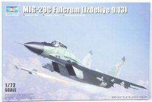 1:72 Trumpeter 01675 Mig-29C Fulcrum ( Izdeliye 9.13)