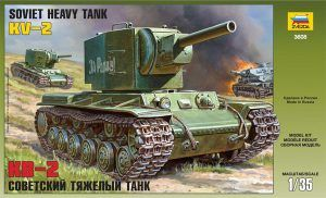 1:35 Zvezda 3608 Soviet Heavy Tank KV-2