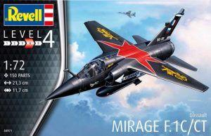 1:72 Revell 04971 Dassault Mirage F.1C/CT