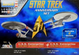 1:600 Revell 05721 Star Trek Gift Set