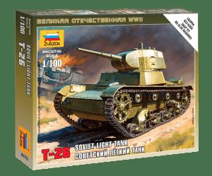1:100 Soviet Tank T-26  ZVE6113
