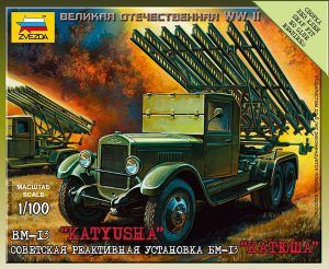 1:100 Zvezda 6128 BM-13 Katiusza (Art Of Tactic)
