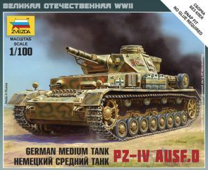 1:100 Pz.IV Ausf.D  ZVE6151