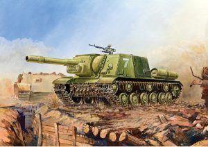 1:100 Self-propelled Gun SU-152   ZVE6182