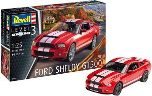 1:25 Revell 07044 2010 Ford Shelby GT 500