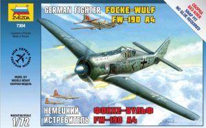 1:72 Zvezda 7304 Focke Wulf Fw 190A-4
