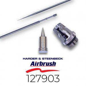 Harder & Steenbeck: Set 0,15mm Aguja, Boquilla Y Cabezal (Infinity, Evolution, Grafo Y Ultra) (127903)