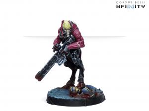 Infinity: Shasvastii Mentors (Shock Marksman Rifle) (0789)