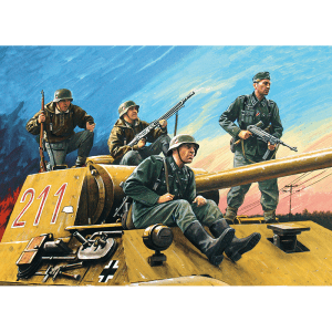 1:35 ICM German Tank Riders (1942-1945) (35634)