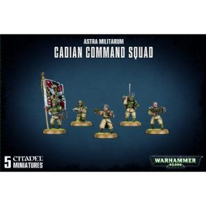 Astra Militarum: Cadian Command Squad (47-09)