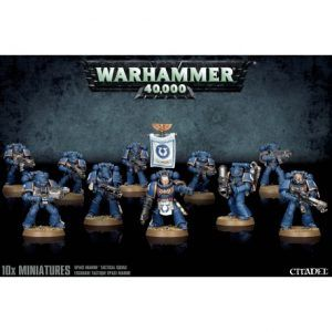 Space Marines: Tactical Squad (48-07)