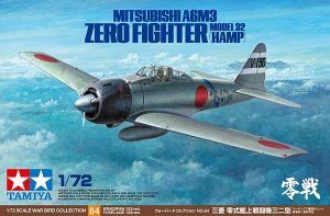 1:72 Tamiya: Mitsubishi A6M3 (Hamp) – Zero Fighter Model 32 (60784)