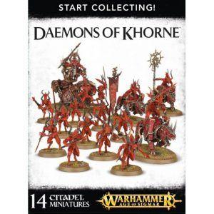 Start Collecting: Daemons Of Khorne (70-97)