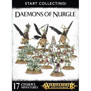 Start Collecting: Daemons Of Nurgle (70-98)