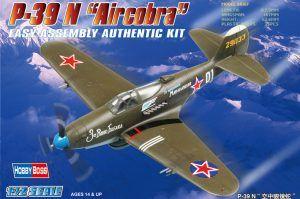1:72 Hobby Boss 80234 P39N Aircobra WWII Fighter