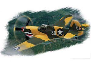 1:72 Hobby Boss 80250 P-40E Kitty Hawk