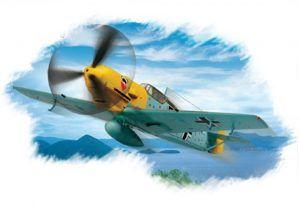 1:72 Hobby Boss 80253 Bf109E-3 Fighter