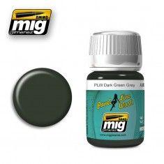 PLW DARK GREEN GREY A.MIG-1608