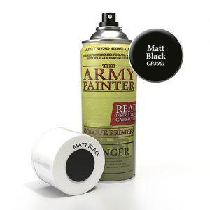 The Army Painter: Base Primmer – Matt Black (CP3001) Spray