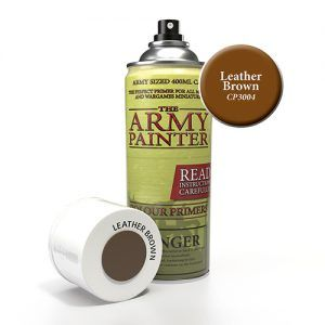 The Army Painter: Color Primer – Leather Brown (CP3004) Spray