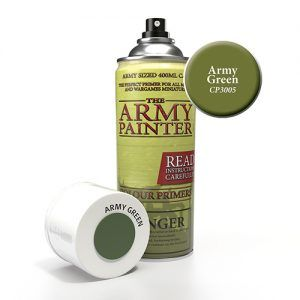 The Army Painter: Color Primer – Army Green (CP3005) Spray
