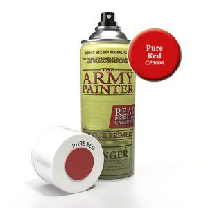 The Army Painter: Color Primer – Pure Red (CP3006) Spray