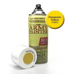The Army Painter: Color Primer – Daemonic Yellow (CP3015) Spray