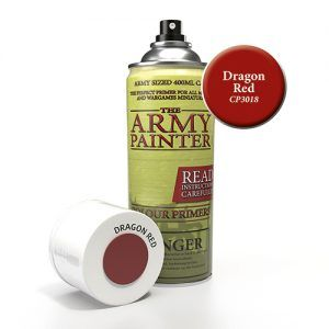 The Army Painter: Color Primer – Dragon Red (CP3018) Spray