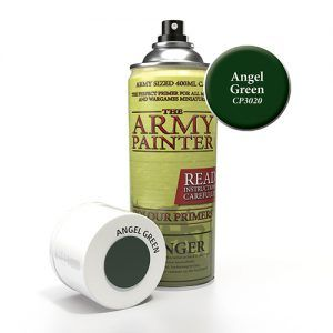 The Army Painter: Color Primer – Angel Green (CP3020) Spray