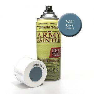 The Army Painter: Color Primer – Wolf Grey (CP3021) Spray