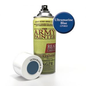 The Army Painter: Color Primer – Ultramarine Blue (CP3022) Spray