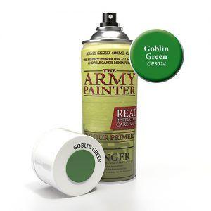 The Army Painter: Color Primer – Goblin Green (CP3024) Spray