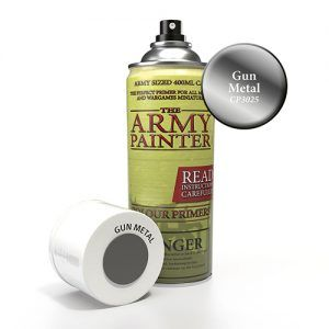 The Army Painter: Color Primer – Gun Metal (CP3025) Spray