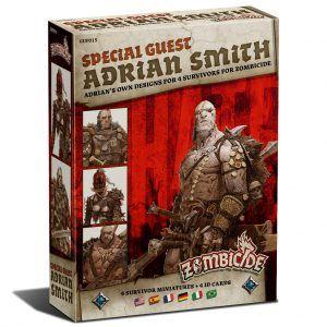 Zombicide Black Plague: Special Guest Box Adrian Smith