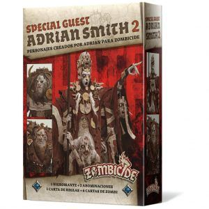 Zombicide Black Plague: Special Guest Box Adrian Smith 2