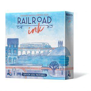 Railroad Ink: Azul Profundo