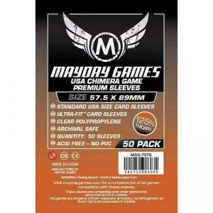 Fundas Mayday: Premium 57.5×89 Mm Standard USA Chimera Card Sleeves (50) (7078)