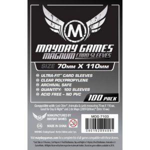 Fundas Mayday: Magnum Silver Sleeve: 70×110 Card Sized – Lost Cities (100u) (7103)