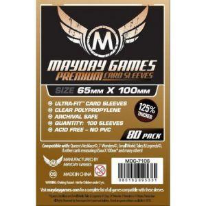 Fundas Mayday: Premium Magnum Copper Sleeve 65×100 – 7 Wonders (80u) (7106)