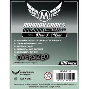 Fundas Mayday: Magnum Oversized Dungeon Sleeves 87×112 (100u) (7116)